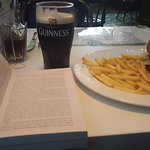 Burger and Guinness