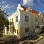 Outside Curacao Maritime Museum