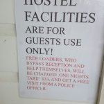 No warm welcome here. Lots of bossy signage and poor hygiene. The hostel is up for sale. Photo s