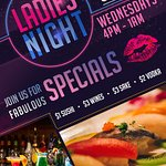 Join us every Wednesday night at Soho for Ladies Night! Take advantage of $1 sushi, $2 vodka, $3