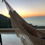 Hammock on our balcony, tower 5, 7th floor