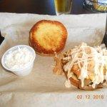 Slaw and Kentucky burger