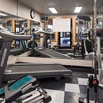 Stay fit in our fitness Room