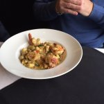 Bacon and Shrimp Gnocchi