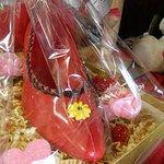 Life-Sized Chocolate Lady's Slipper