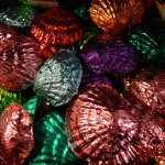 Foil Wrapped Chocolate Shells