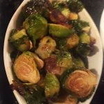 Roasted Brussel Sprouts Appetizer