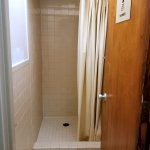 Shared shower. Located directly across from guest rooms.