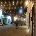Thursday night art walk. Like a beautiful street fair every week