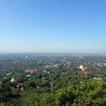 Mandalay view from the open verandah