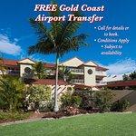 FREE Gold Coast Airport Transfer