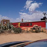 Mad Max 2 museum from front