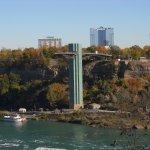 The Niagara Falls Observation Tower, Niagara Falls, New York, USA.