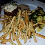 garlic stars on Argentinian fries