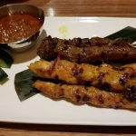 Beef and Chicken Satay Skewers