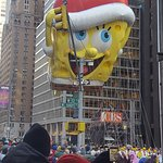 Enjoyed the Macy's Thanksgiving parade -- few blocks from hotel