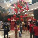 Walkway to market Chinese New Year 2018