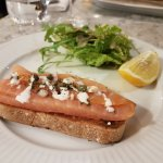 Salmon Terrine with Capers
