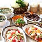 สุดยอดอาหารอิสาน ครบตวามแซบนัวทุกเมนู!! BEST of Isaan food!Experience the taste of Khon Kaen!