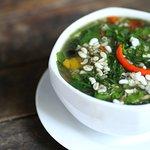 แกงผักหวานไข่มด Pakwaan and ant egg isaan soup