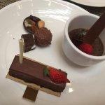 Dessert. Chocolate overload indeed!