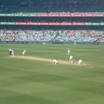 Mitch Marsh About to Score his Ton !