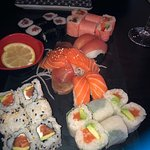 Fabulous range of creative sushi.  Some of the best makis I ever had.