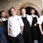 The Castle Dairy team under the guidance of Head Chef Chris O'Callaghan