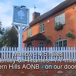 We're not actually in Henley, we're nestled in the Chiltern Hills Area of Outstanding Natural Be