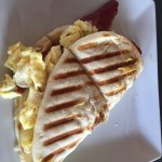 Turkey bacon toastie (large)