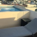 2 bed penthouse top floor plunge pool