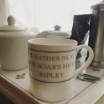 The tea tray in our room!