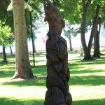 Sculpture in City Park