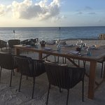Private Dining arranged on beach