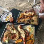 Amazing seafood and lobster