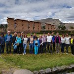 "Great Group in Raqchi ""the  Wiracocha's temple "", the creator of the Andean world"