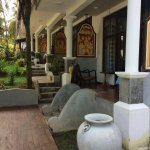 Garden rooms.
