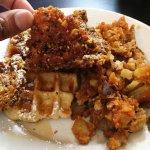 Chicken Maple Waffle