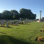 Beny-sur-Mer Canadian War Cemetery.