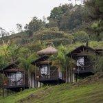 cabaña bungalow con vista al lago / bungalow cabin with viw lake