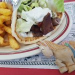 Great Diner close to the highway excellent Gyros friendly service will definitely stop here agai