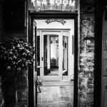 Entrance to the tea rooms