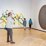"""L'exposition """"De Ferron à BGL. Art contemporain du Québec"""". Collection du MNBAQ."""