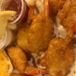 One of our delicious seafood entrees