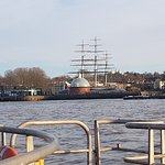 Cutty Sark from the river