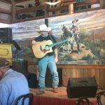 Lunch Entertainment at the Mammoth Saloon