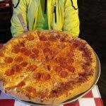 18 Zoll Pizza