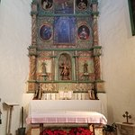 The altar of the San Miguel Chapel