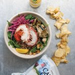 Try the Two Flannels warm grain bowl, only during winter at Luke's.