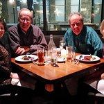 Valentine's Day dinner with friends